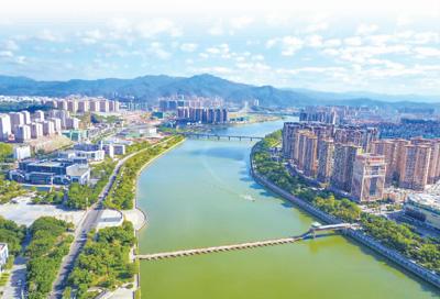 芹洋半岛,江南新城,梅县新城建设的同时,梅州推进以人为核心的新型