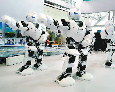 智能机器人_人工智能,中国加速前进