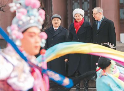 拥抱中国成欧洲新时尚(环球热点)