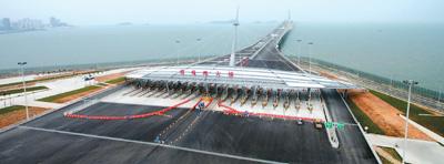 港珠澳大桥创新通关模式