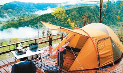 """场地合法率奇低 台湾露营族""""用生命在旅行""""?"""