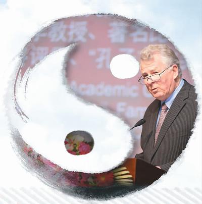 """""""洋教授""""安乐哲把中国经典带向世界"""