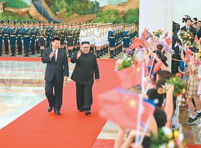 习近平:中国高度重视中朝友好合作关系