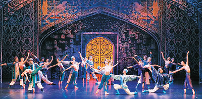 上海芭蕾舞团原创舞剧亮相俄罗斯