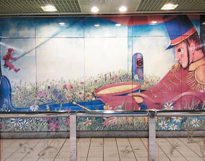 """台北的""""地铁文化""""诱上八岁娘子"""