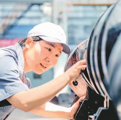 """中国创新彰显""""她力量"""""""