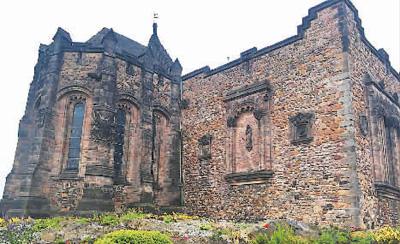 风笛声中的爱丁堡   让人沉醉在一场童话里