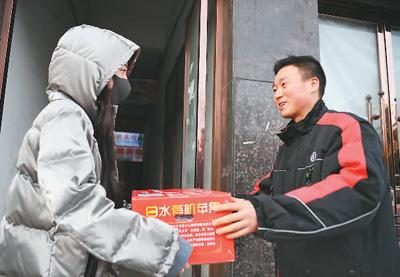 春节期间递出十六亿个包裹