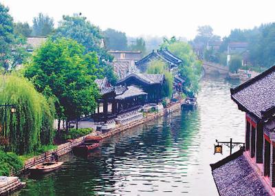 活的运河博物馆(古村今貌)