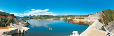 水电站工程给村寨带来发展新机遇