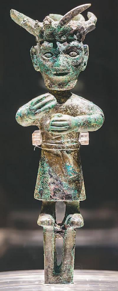 在成都金沙遗址博物馆里探寻神秘的古蜀王都