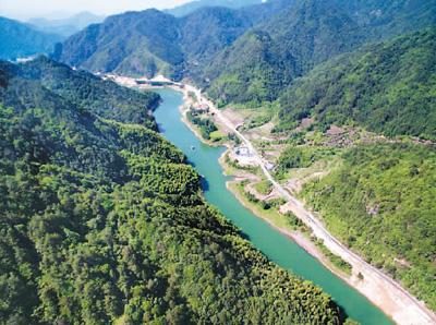 浙江枫常公路改建工程生态优先