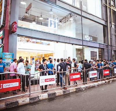 中国手机品牌已走向国际市场并在海外大受追捧