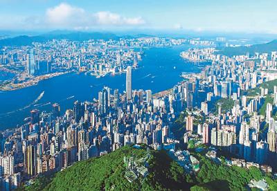 香港地图全图高清版图
