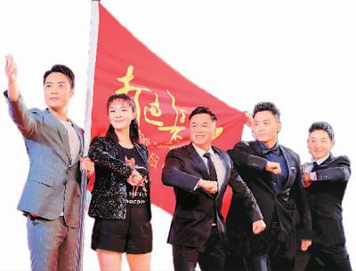两部国产新片在北京举行首映发布会