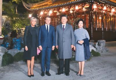 习近平夫妇在上海会见法国总统马克龙夫妇深圳公认的第一富人区