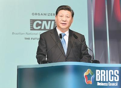 习近平:中国的发展是世界的机遇