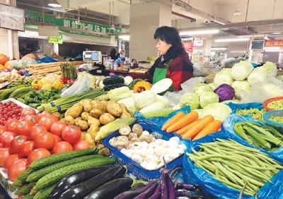 京沪渝三地市场问物价