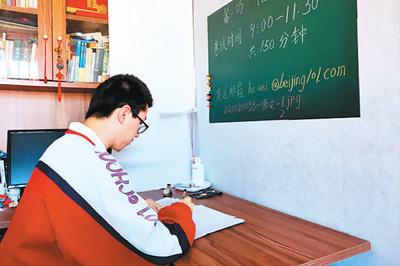 备战高考,学校倾尽全力,年轻学子也很拼