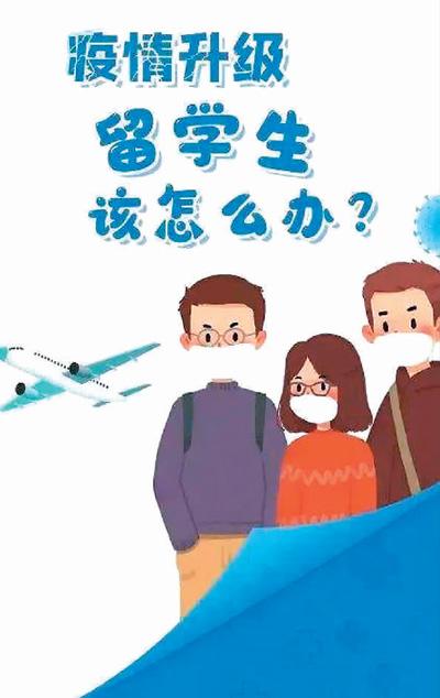 全球疫情蔓延 中国留学生学业如何继续