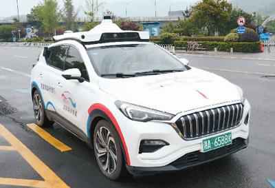 """网约无人车试运营 5G推动车联网加速""""智行"""""""