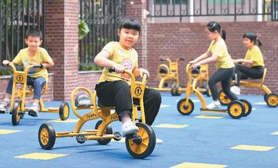 廣東省幼兒園陸續開園