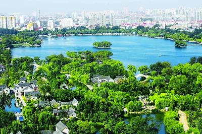 济南大明湖新景区开放