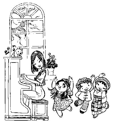 花朵简笔画图片大全 幼儿园