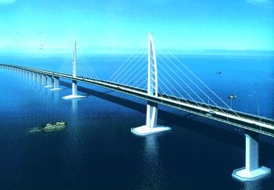 港珠澳大桥开工