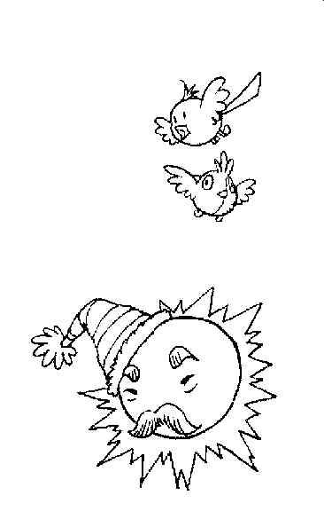 可爱超萌简单小天使的简笔画