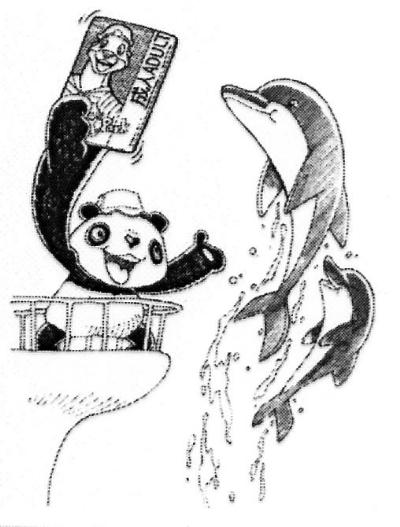 这对可爱的大熊猫也成了海洋公园的明星