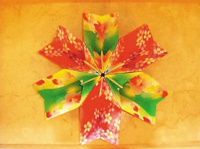 雷梦制作的折纸手工