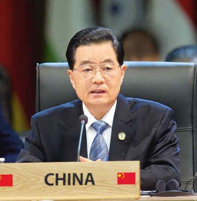 胡锦涛出席首尔核安全峰会并发表重要讲话