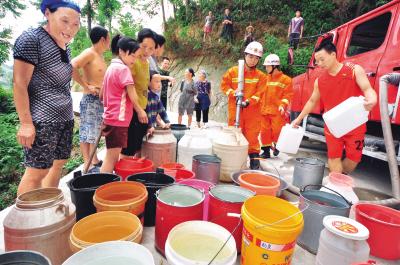 抗旱 南方十三省在行动 - 人在上海    - 中華日报Chinadaily