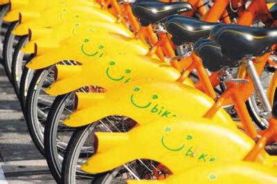 """台北的""""微笑单车""""咋这么火?"""