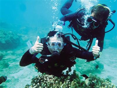 分界洲岛珊瑚馆是目前中国唯一可以同时观看活体珊瑚和珊瑚标本的