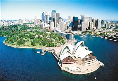 图二为悉尼城市风景