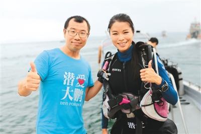 志愿者四年种下5600株珊瑚