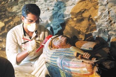埃及发现阿蒙神金匠墓