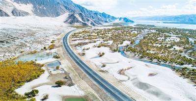高等级公路改善西藏交通