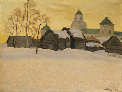 """""""白俄罗斯国家美术馆典藏精品展"""",展览作品跨越19世纪至今"""