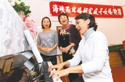 陆配李采恩的台湾生活谢娜欢型