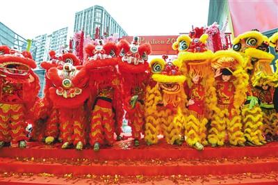 海外华人喜迎新年(侨界关注)