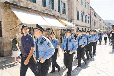 中国与克罗地亚开展警务联合巡逻