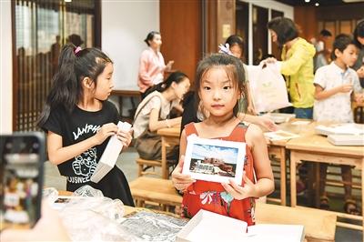 两岸青少年体验艺术品保存修复