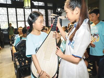"""台湾学生苏州体验""""非遗"""""""