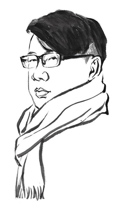 武汉大学手绘李佩文