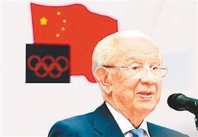 """萨马兰奇:""""我为什么爱中国,尊重中国?"""""""