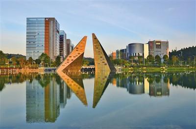 """有着""""华南硅谷""""美誉的黄埔区广州开发区,已跻身世界一流高科技园区"""