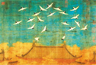 古代各种鹤的图片大全
